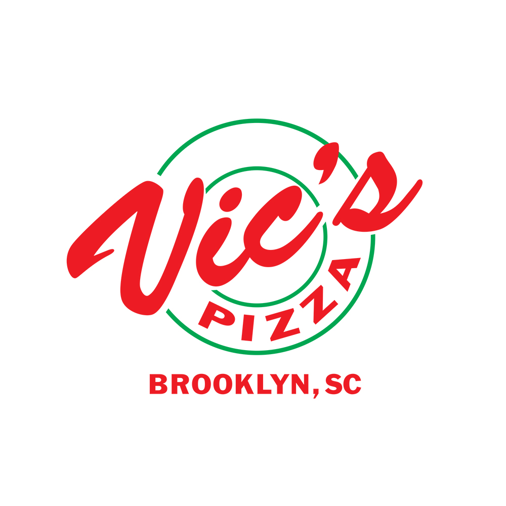 Vic's Pizza Logo