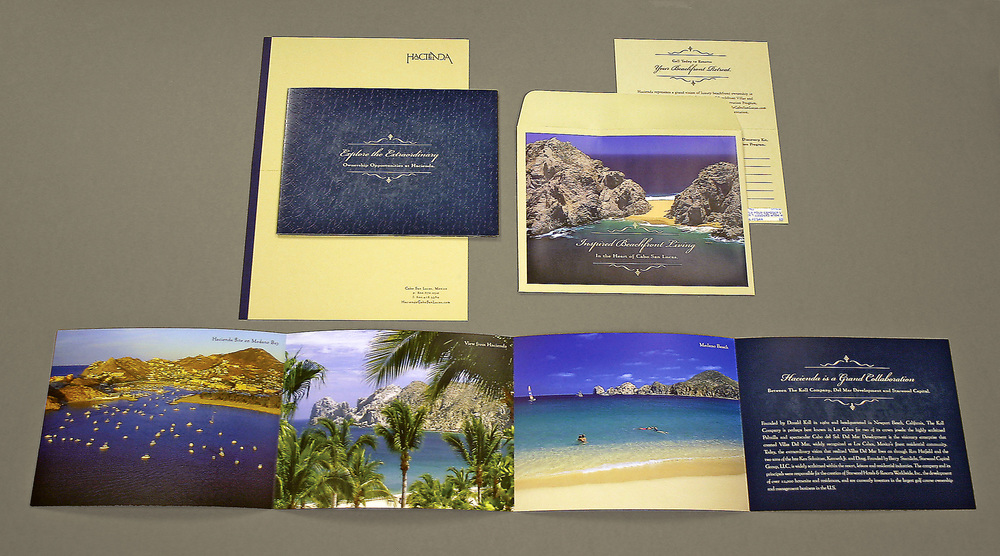 Hacienda Cabo San Lucas Direct Mail Packet