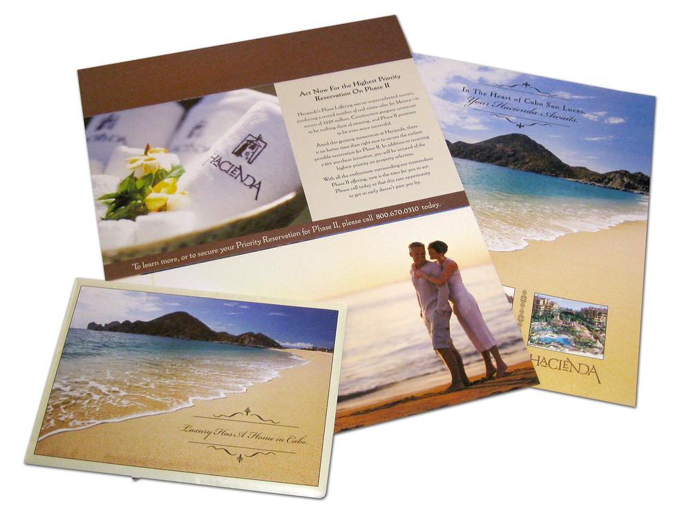 Hacienda Cabo San Lucas Direct Mail Materials