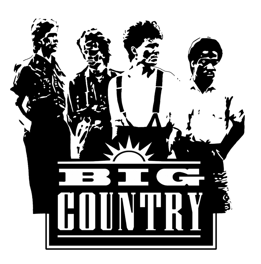 One-Color Stylization of The Band Big Country