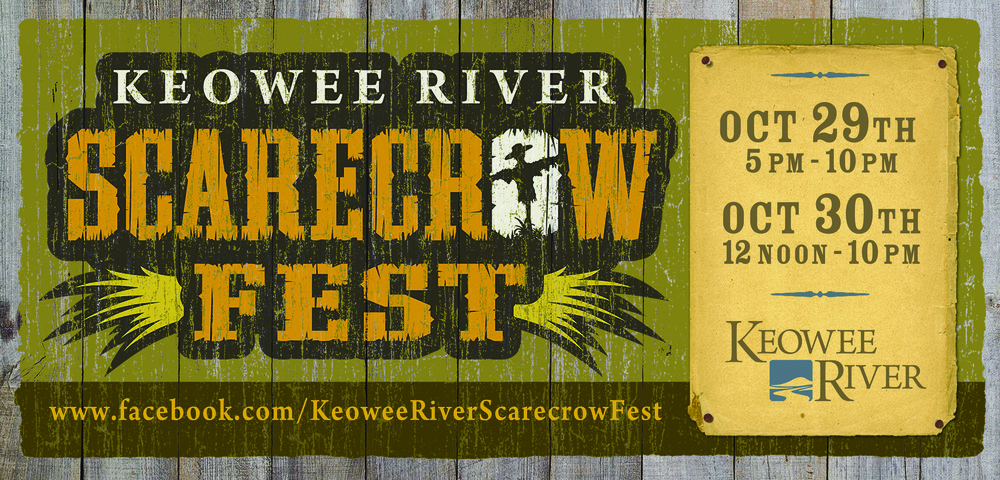 Keowee River Scarecrow Fest Outdoor Board