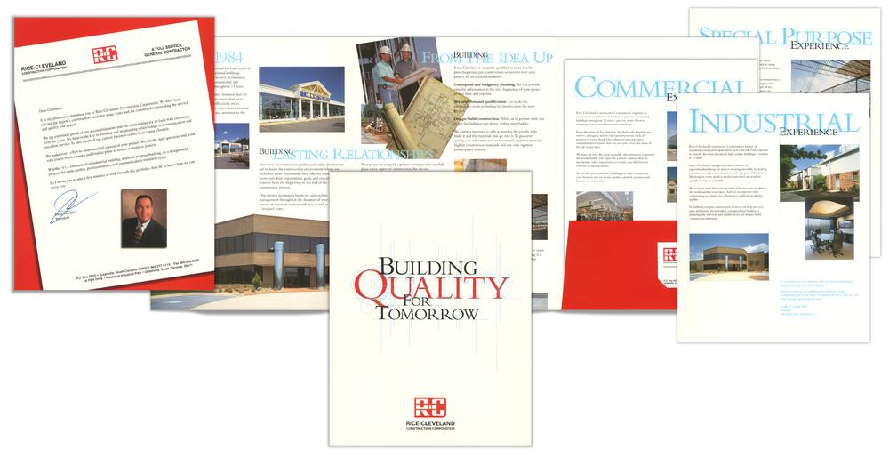 Rice-Cleveland Construction Marketing Kit
