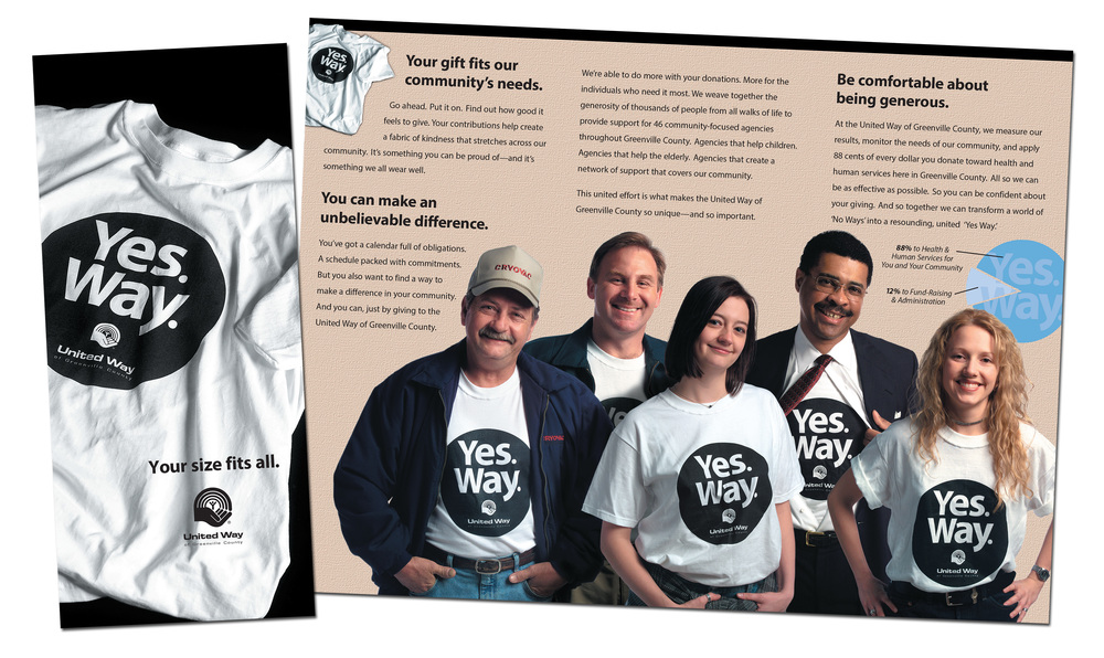 United Way of Greenville County 2003 Campaign Brochure