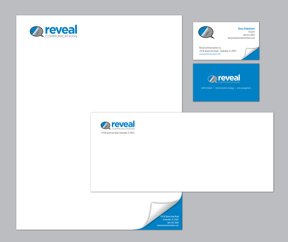 Reveal Communications Stationery Package