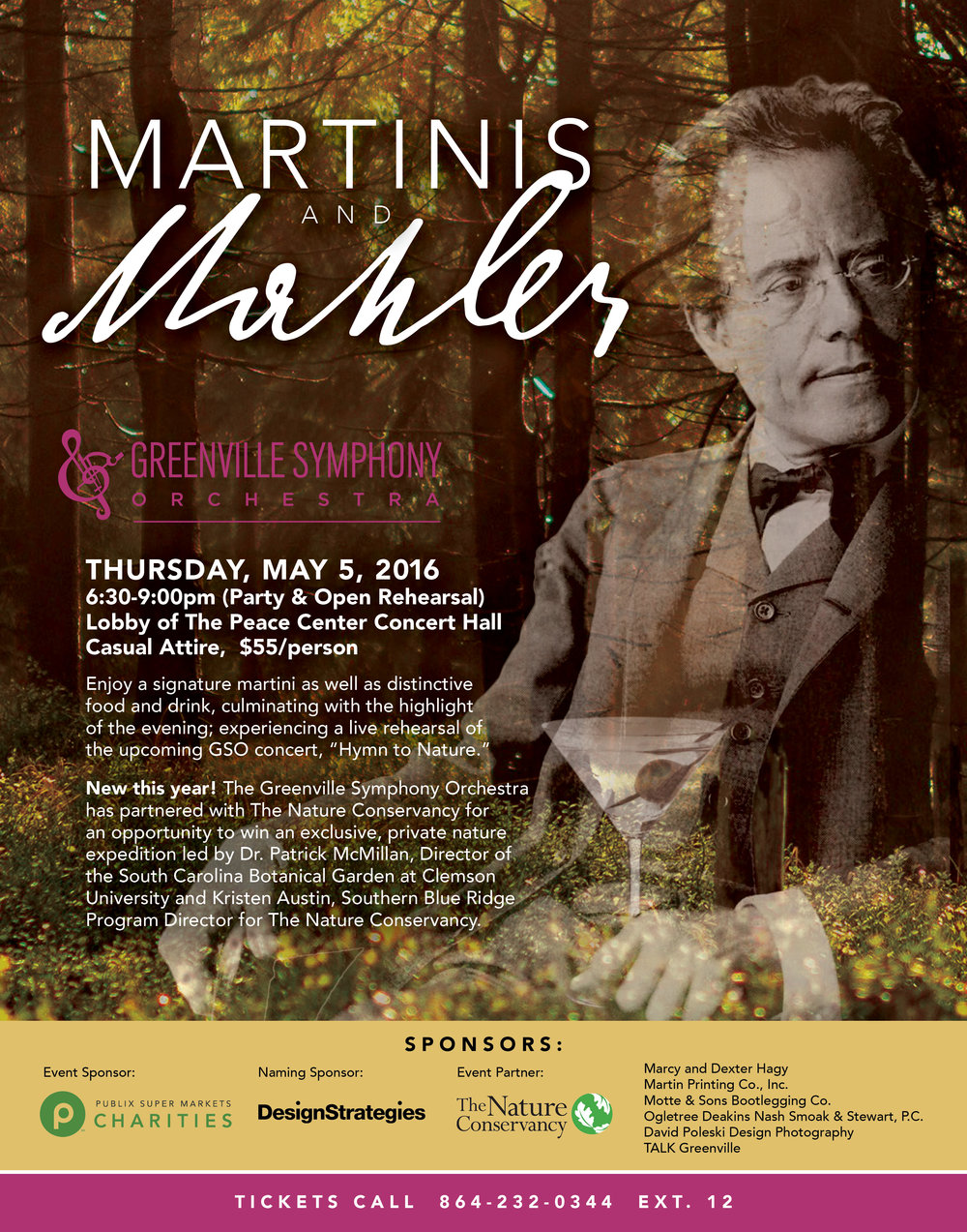 Greenville Symphony Event Poster