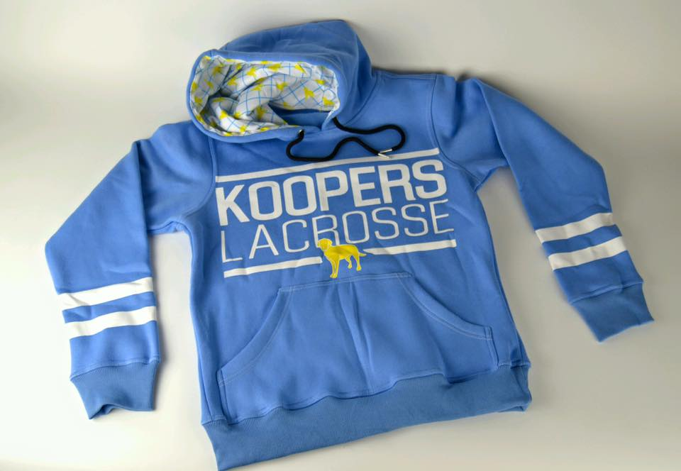 100% Custom Lacrosse Hoodies