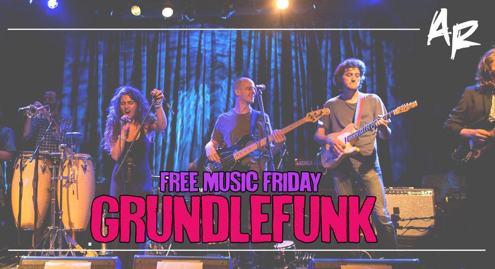 GRUNDLEFUNK FREE MUSIC FRIDAY ARTSRIOT