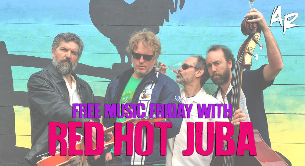 RED HOT JUBA BURLINGTON VERMONT FREE MUSIC FRIDAY ARTSRIOT