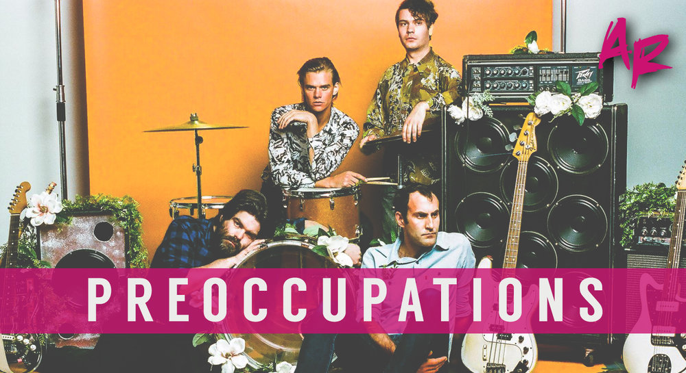 PREOCCUPATIONS ARTSRIOT