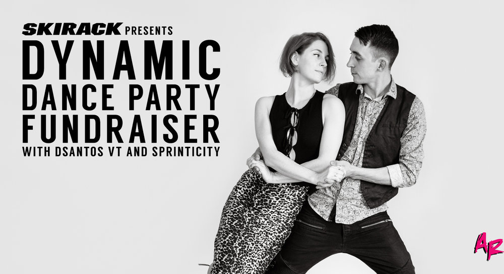 dynamic dance party fundraiser
