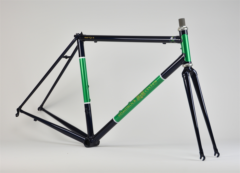 Shamrock Cycles Lugged Steel