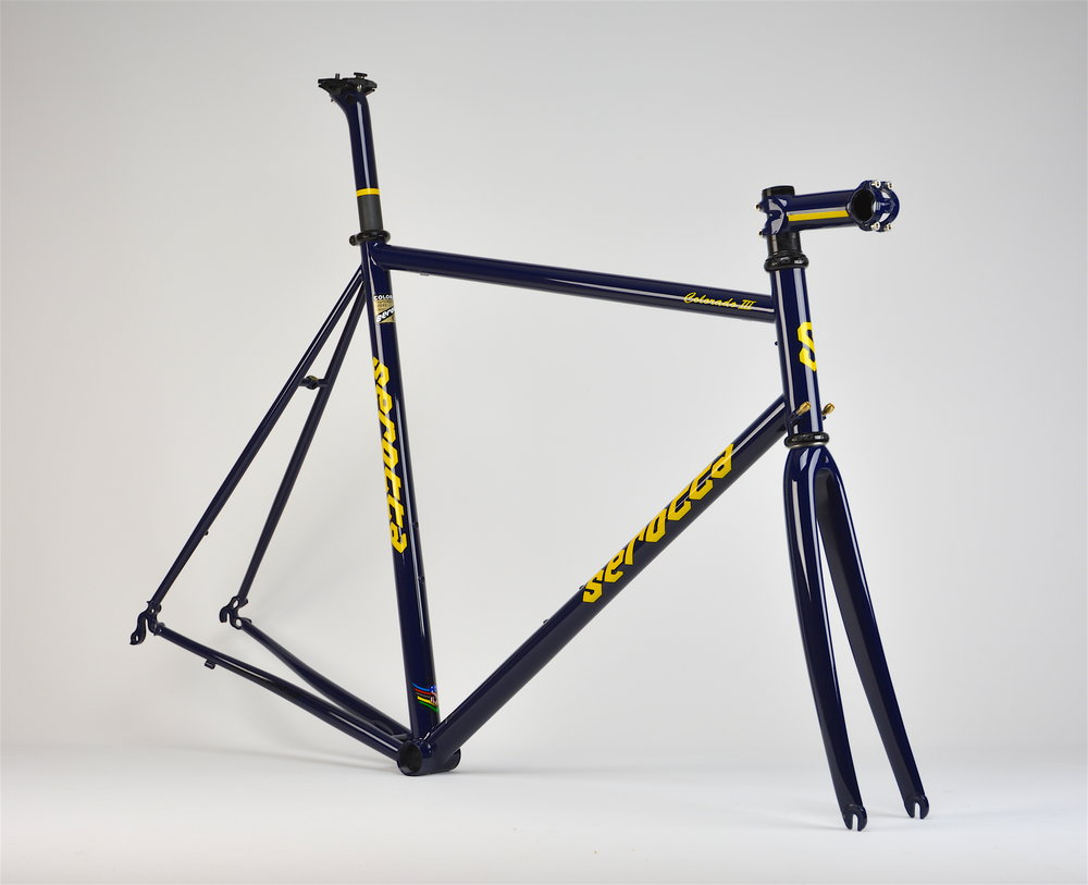 Serotta Colorado III Refinish