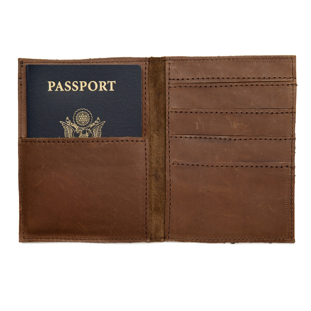 Ephraim Passport Wallet by Connected in Hope, To The Market, $38.00
