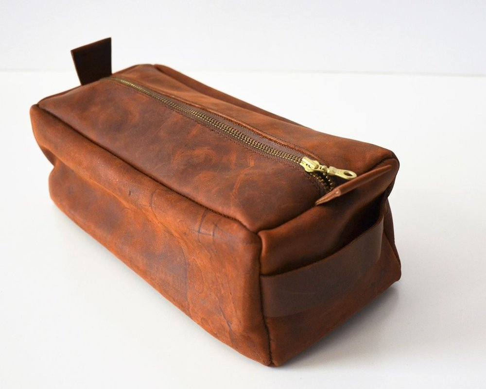 San Marcos Dopp Kit by Fashion & Compassion, TO THE MARKET, $68.00