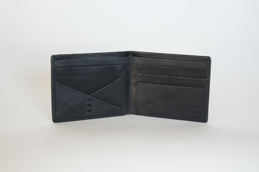 Bi-Fold Wallet in Eco Black by Elevate, TO THE MARKET, $45.95