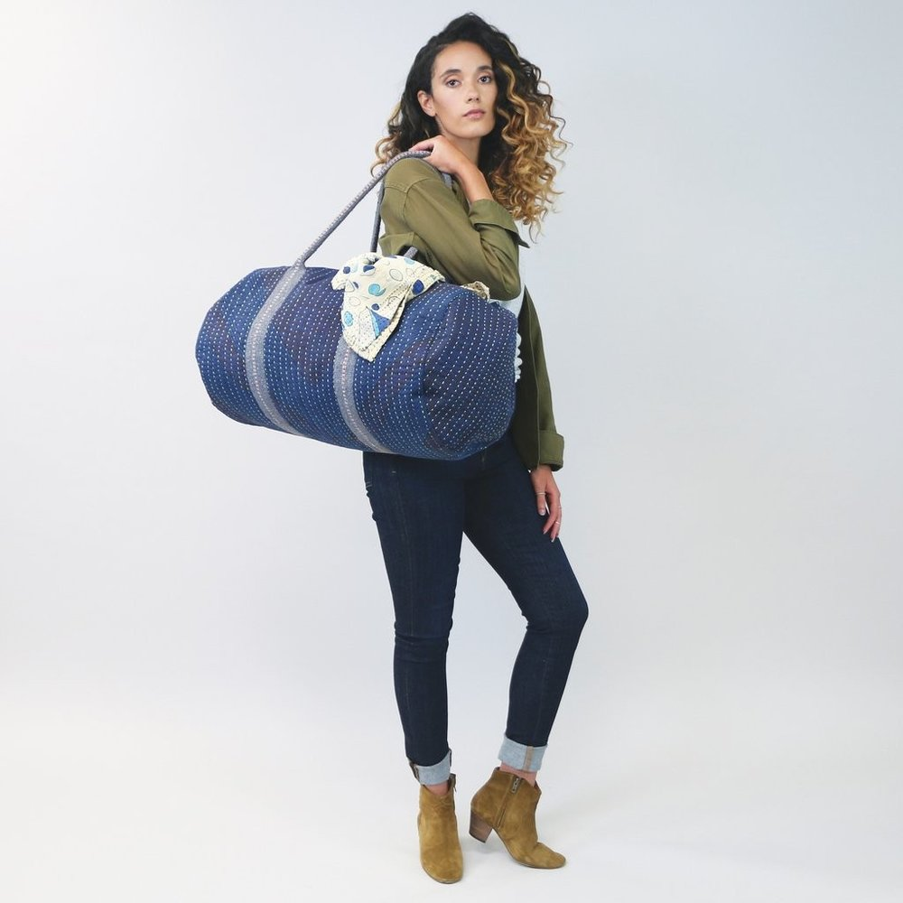 Weekender in Indigo by Anchal Project  ,  TO THE MARKET , $120.00