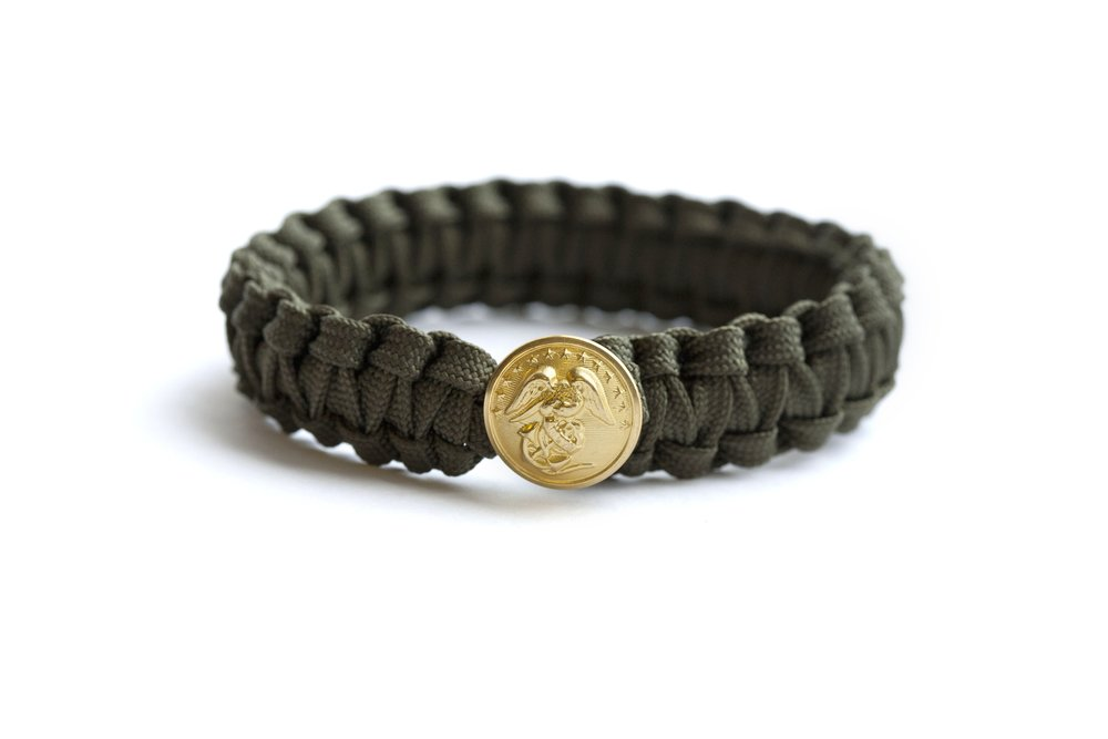 Peace Cord Military Bracelet by ARZU Studio Hope  , T O THE MARKET , $18.00 (sale $10.00)
