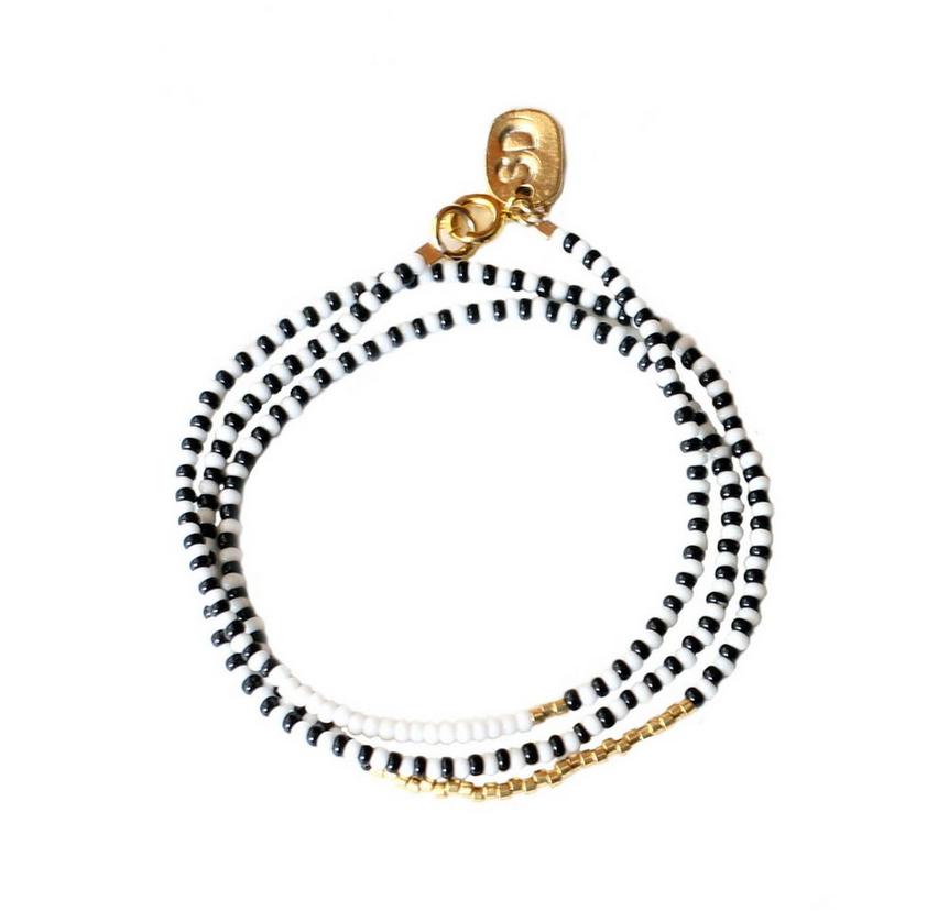 Porcupine Wrap Bracelet  ,  Sidai Designs , $22.00