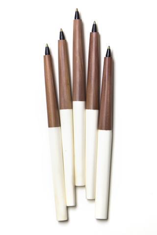White Akamba Ink Pen by Swahili Modern, Accompany, $12.00