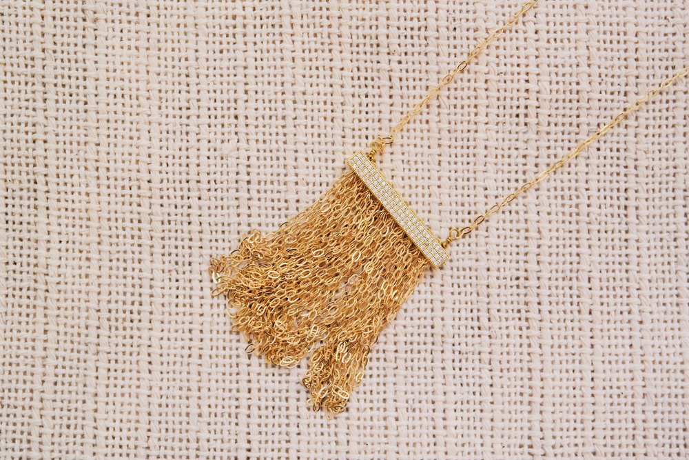 Noelle Necklace by Starfish Project, TO THE MARKET, $72.99