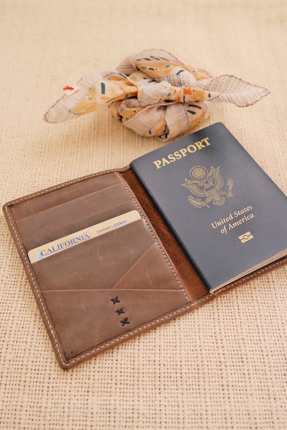 Passport Wallet in Eco Brown by Elevate , TO THE MARKET, $49.95