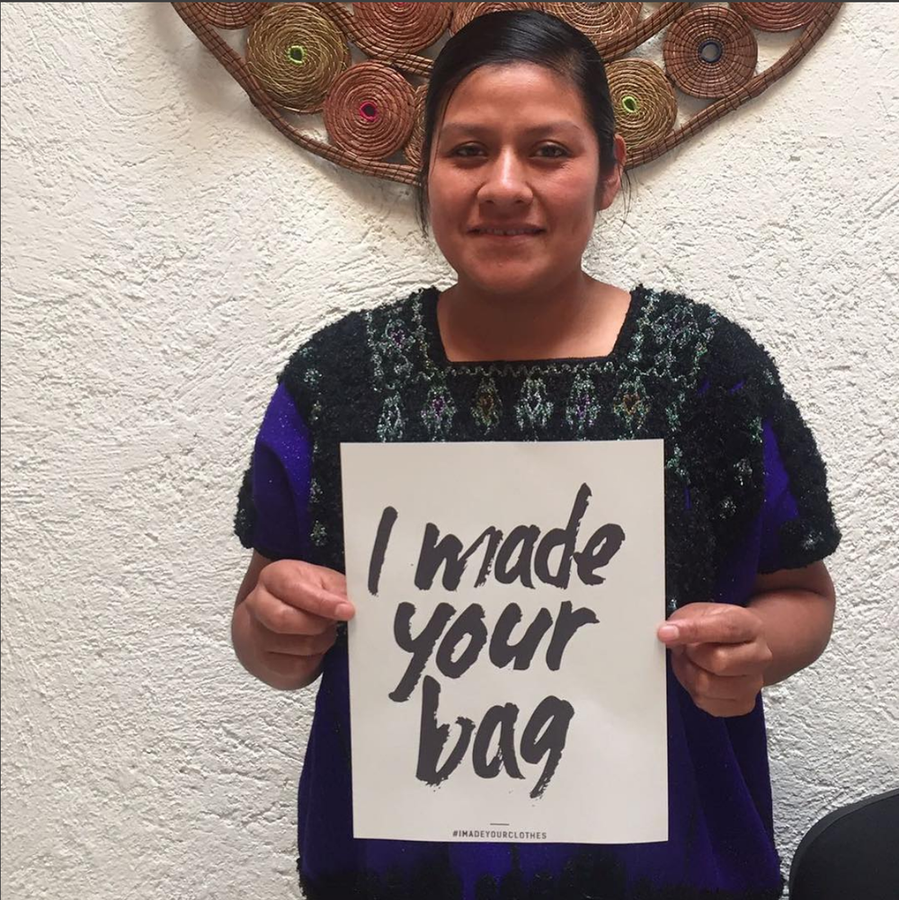 Local artisan partner in Chiapas, Mexico who draws on local traditions and designs to create handmade crossbody bags (Catrinka Project).