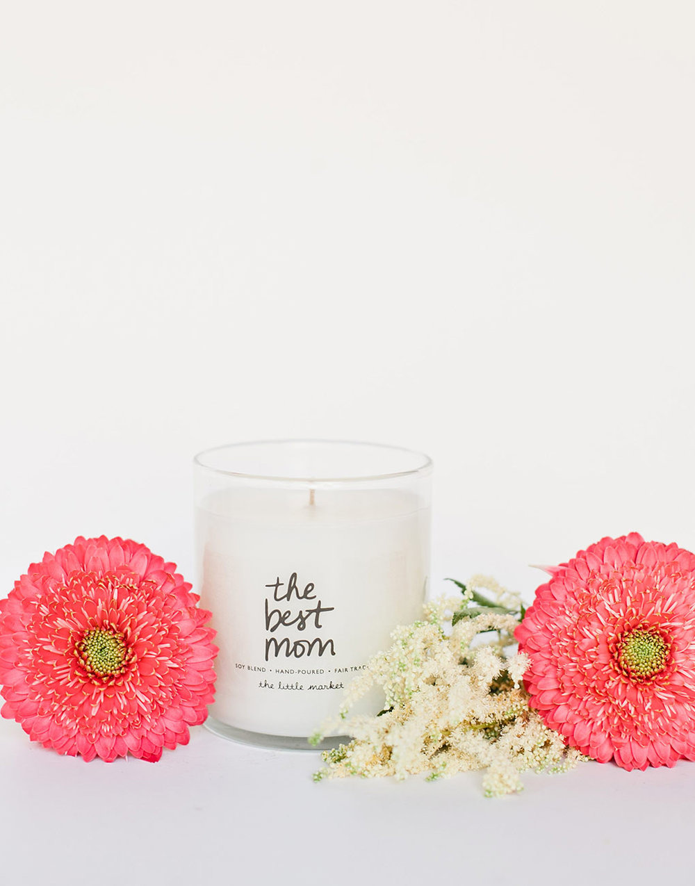 Soy Blend Candle - The Best Mom, The Little Market, $26.00
