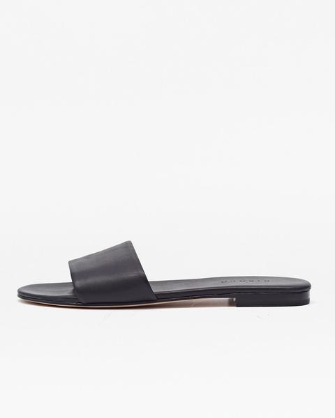 Isla Slide Sandal Noir , Nisolo, $88.00