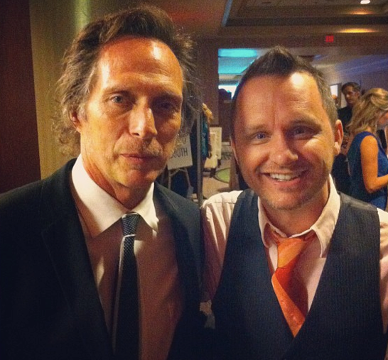 William Fichtner with Ryan Murphy from Full Contact Karaoke