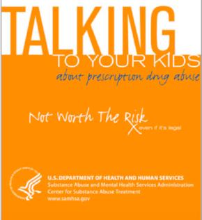 RX drug guide for parents (SAMHSA)
