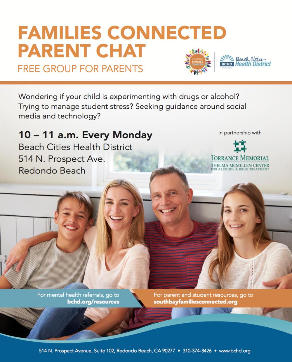 Families Connected Parent Chat