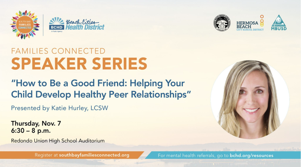 How to Be a Good Friend: Helping Your Child Develop Healthy Peer Relationships, with Katie Hurley