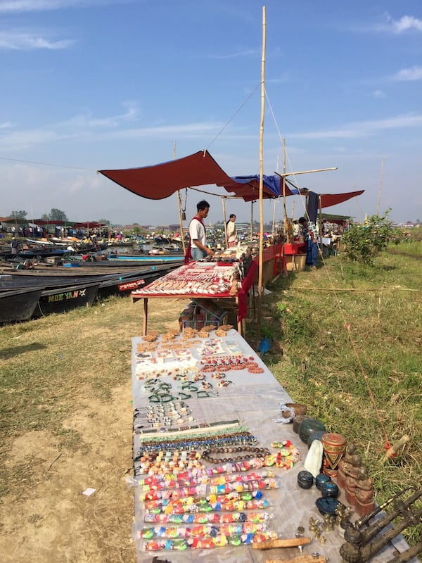 Trinkets, jewellery, handicrafts, locally made jade, and much more lines the stalls up and down this inlet. It is virtually impossible to pass by without buying something.