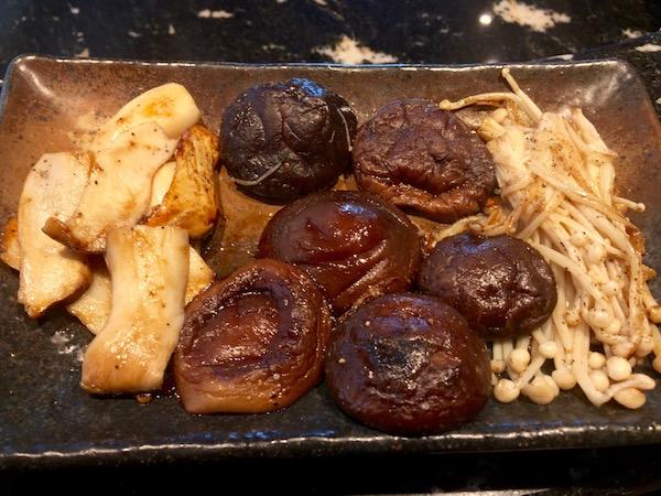 The mushroom plate