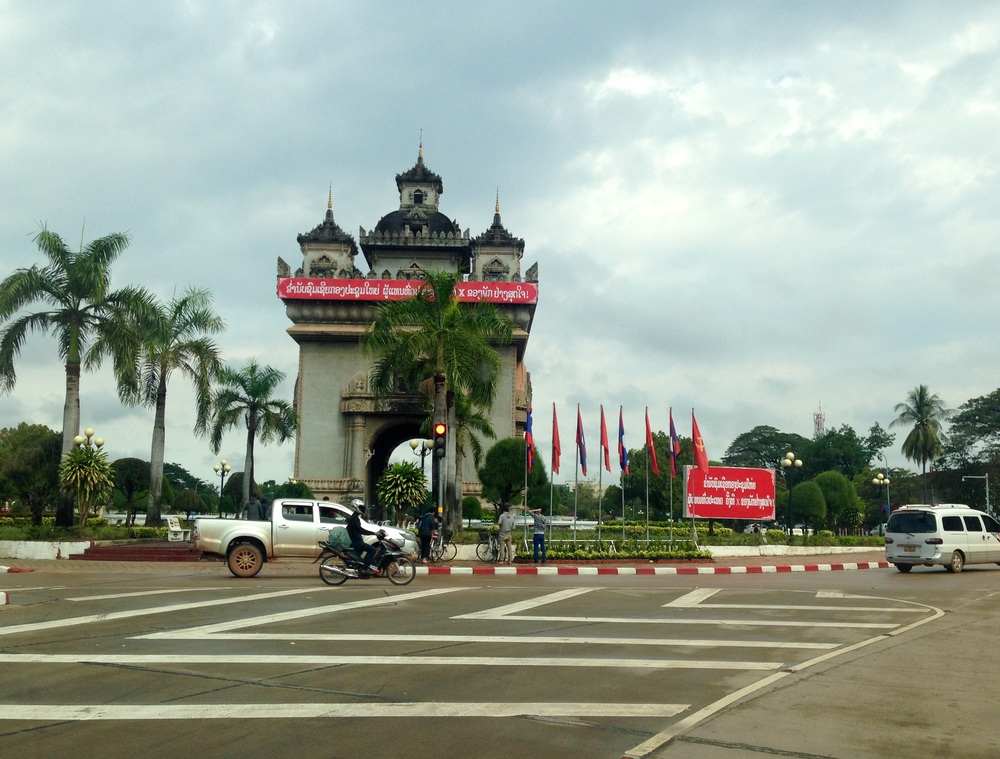 Patuxai, Vientiane's Arc du Triomphe and an important landmark