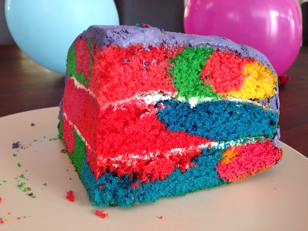 rainbow swirl cake rainbow swirl cake eat drink laos 6951