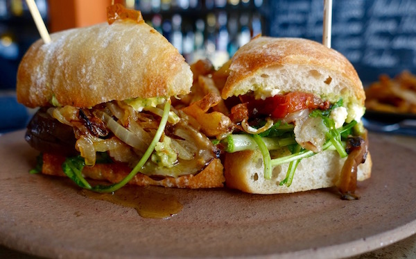 Roast veggie sandwich