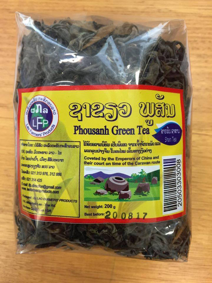 Phousanh green tea - the emperor's brew