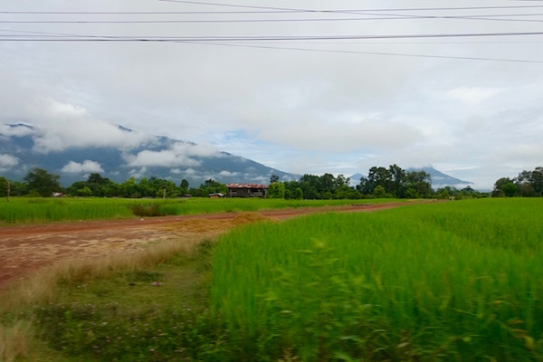 Champasak province in southern Laos in October - cool, rainy and just beautiful. It's also Boat Racing Festival time | Eat Drink Laos http://eatdrinklaos.com/blog/southern-laos-champasak-boat-racing