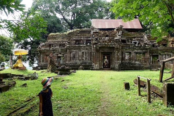 The 1,000 year old Wat Phu, part of the Khmer empire, akin to Angkor Wat in Cambodia | Eat Drink Laos http://eatdrinklaos.com/blog/southern-laos-wat-phu