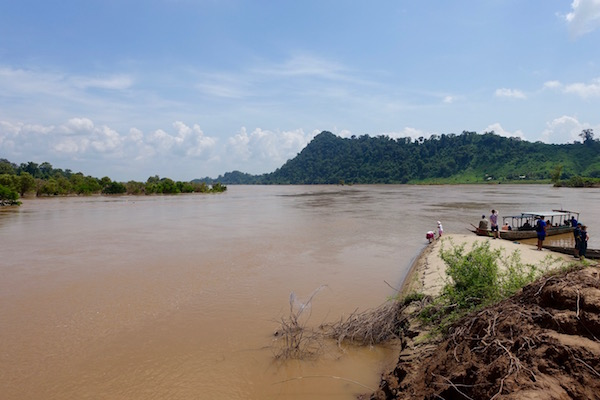 It's another world - ancient waterways, French colonial relics, wallowing buffaloes, glowing green paddy fields, friendly locals and very shy dolphins - the 4,000 Islands of southern Laos | Eat Drink Laos http://eatdrinklaos.com/blog/southern-laos-4000-islands