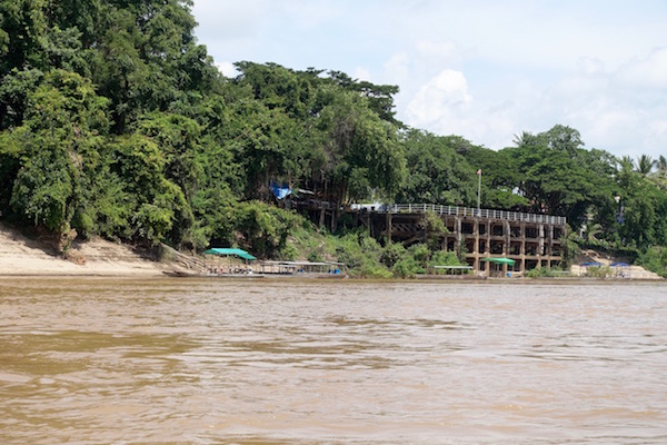 The 100-year old French port of the Indochine empire stands still in the overgrown jungle of the 4,000 Islands of southern Laos | Eat Drink Laos http://eatdrinklaos.com/blog/southern-laos-4000-islands