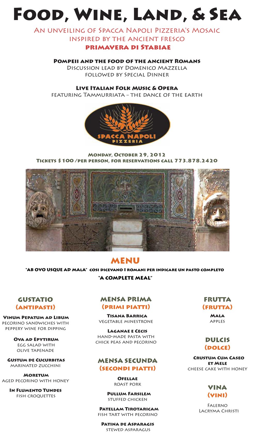 Spacca Pompeii event