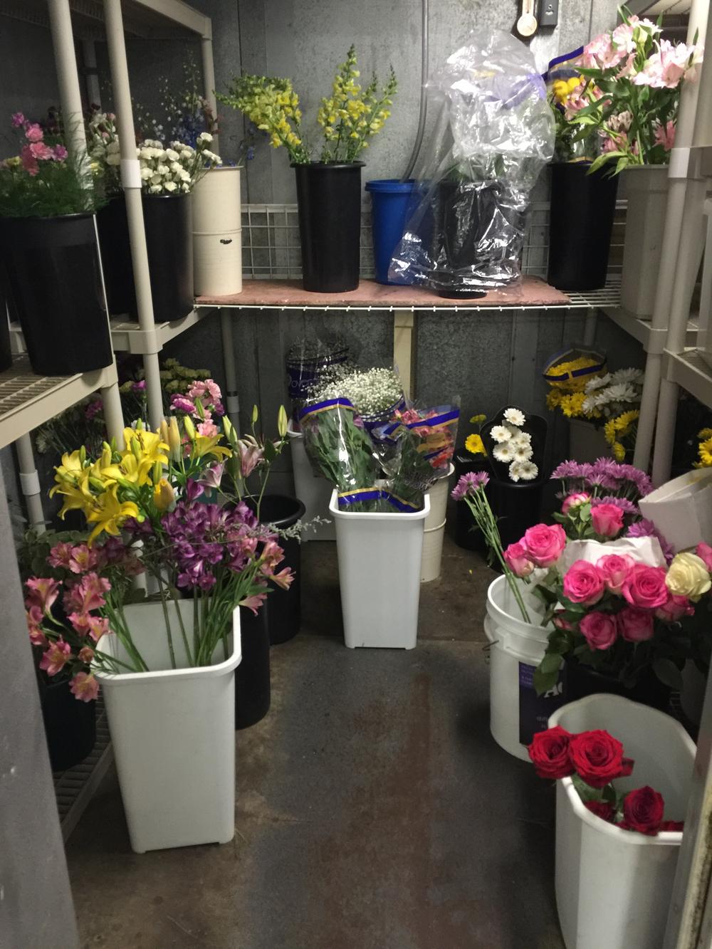 Granny Bloomer's Flower Refridgerator