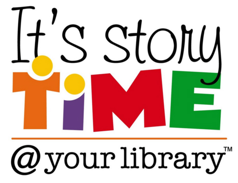 It's story time at the library