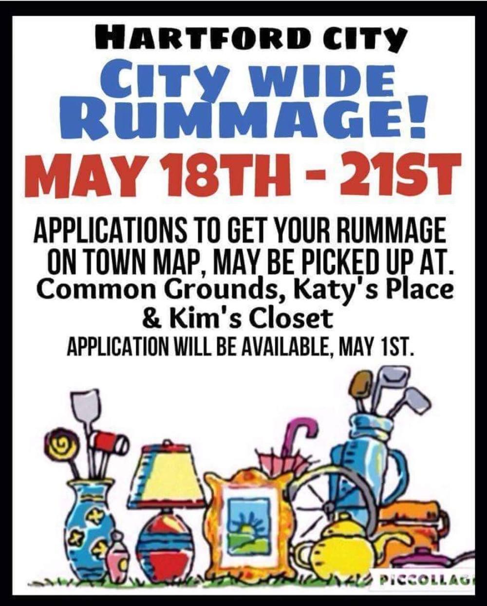 Hartford City City Wide Rummage