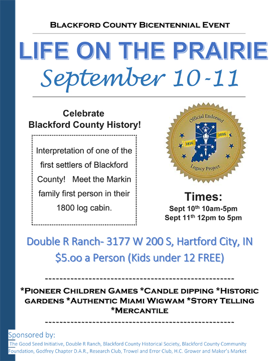 LIfe on the Prairie Poster