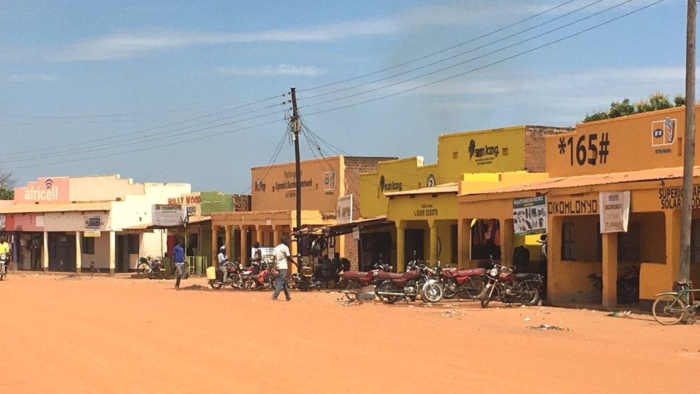 Pader Town, Northern Uganda, January 2019