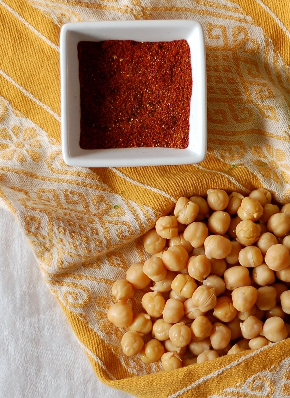 Toasted Chickpeas Ingredients