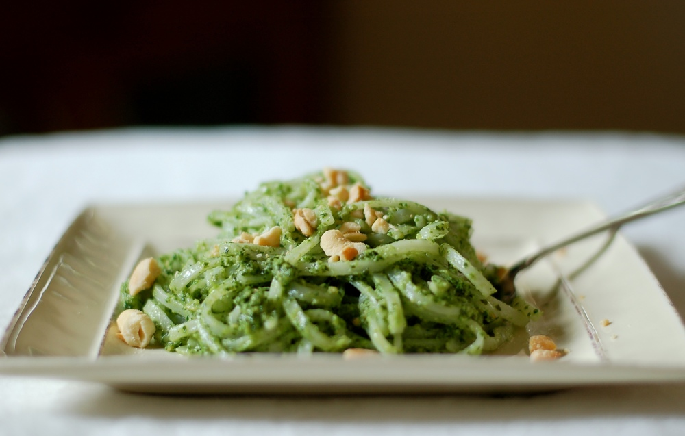 Sorrel Pesto with Cashews